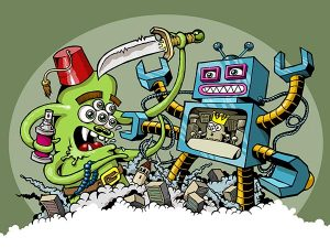 Monster vs Robot